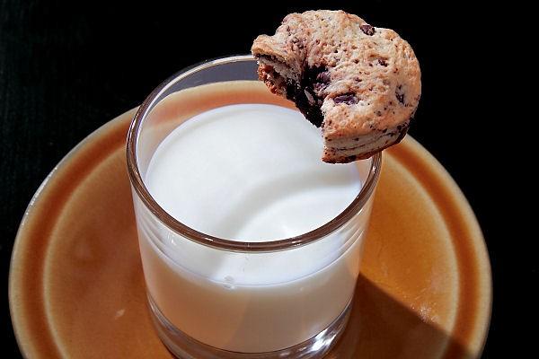 Čokoládové cookies s mlékem